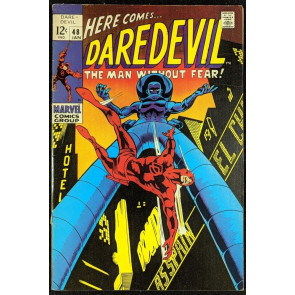 Daredevil (1964) #48 FN- (5.5)  vs Stiltman