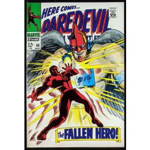 Daredevil (1964) #40 VF- (7.5)  vs  Unholy Three