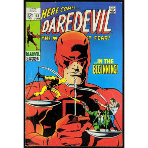 Daredevil (1964) #53 FN- (5.5)  Barry Smith Art