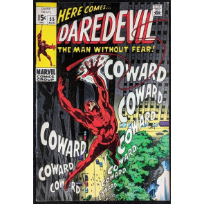 Daredevil (1964) #55 FN+ (6.5)  vs Mr. Fear