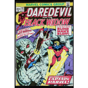 Daredevil (1964) #107 VF (8.0) Captain Marvel  Moon-Dragon vs Thanos