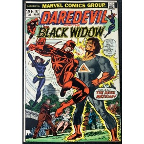 Daredevil (1964) #97 FN- (5.5)  with Black Widow