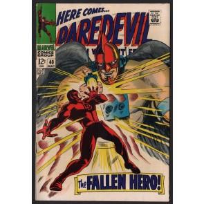 Daredevil (1964) # 40 FN+ (6.5) vs The Organization Cat-Man Bird-Man Ape-Man