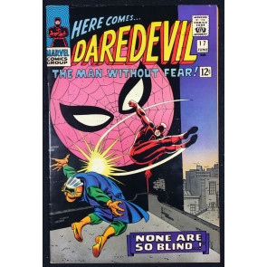 Daredevil (1964) #17 FN/VF (7.0) 2nd Romita Spider-Man