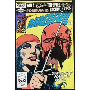 Daredevil (1964) #179 FN+ (6.5) Anti-Smoking Issue Elektra Cover Frank Miller