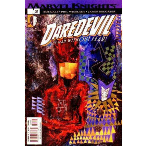 DAREDEVIL (1998) #21 VF/NM DAVID MACK COVER