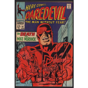 Daredevil (1964) # 41 VF- (7.5) Death of Mike Murdoch