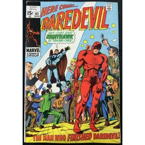 Daredevil (1964) #62 FN+ (6.5) Origin of Nighthawk