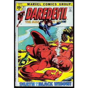 Daredevil (1964) #81 FN+ (6.5)  starring with Black Widow