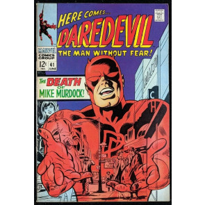 Daredevil (1964) #41 FN- (5.5)  Death of Mike Murdock