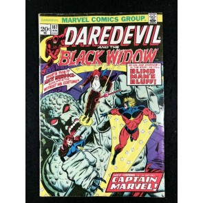 Daredevil (1964) with Black Widow #107 VG/FN (5.0) Thanos Moondragon Cap Marvel
