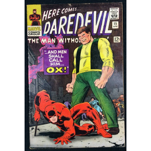 Daredevil (1964) #15 FN (6.0) Ox cover & app