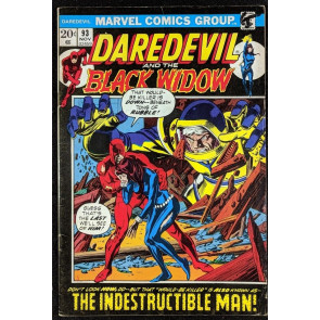 Daredevil (1964) #93 VG+ (4.5) and Black Widow vs Indestructible Man