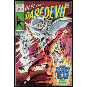 Daredevil (1964) #56 FN+ (6.5)  1st app Death's Head