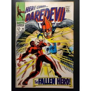 Daredevil (1964) #40 F/VF (7.0) DD vs the Unholy Three|