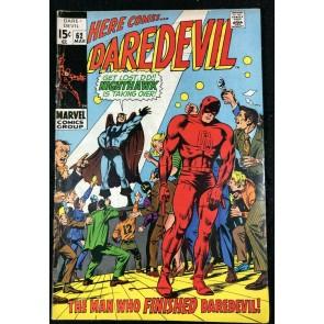 Daredevil (1964) #62 VG+ (4.5) Origin Nighthawk