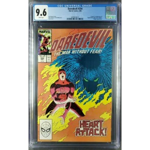 DAREDEVIL 257 (1988) CGC 9.6 WHITE FIRST APPEARANCE TYPHOID MARY 2039616015 |