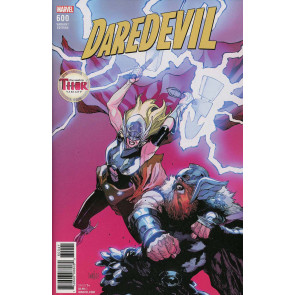 Daredevil (2015) #600 VF/NM Leinil Francis Yu The Mighty Thor Variant Cover