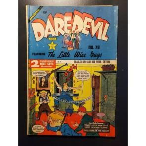 Daredevil #76 1951 VG (4.0) GOLDEN AGE LITTLE WISE GUYS |