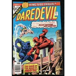 Daredevil Annual (1976) #4 FN/VF (7.0) Sub-Mariner Black Panther Battle Cover