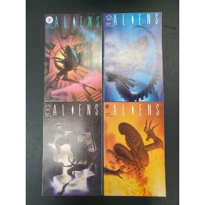DARK HORSE COMICS ALIENS VOL.#2 1-4 Complete set VF high grade ~