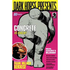 DARK HORSE PRESENTS #1 VF+ CONCRETE COVER DHP