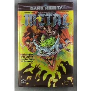 Dark Nights: Metal: The Deluxe Edition 2018 OOP Scott Snyder Greg Capullo HC