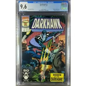 Darkhawk #1 (1991) CGC 9.6 NM+ WP 1st app. Darkhawk 1st issue (3821184024)|