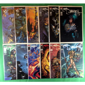 Darkness (1996) 1-20 run Witchblade 10 18 19 + more 1st app Darkness 31 comics