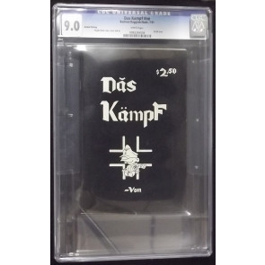 DAS KAMPF CGC GRADED 9.0 WHITE PAGES 2ND PRINTING 1977 VON BODE ONLY 3000 COPIES