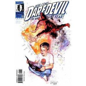 DAREDEVIL (1998) #17 VF/NM DAVID MACK JOE QUESADA COVER