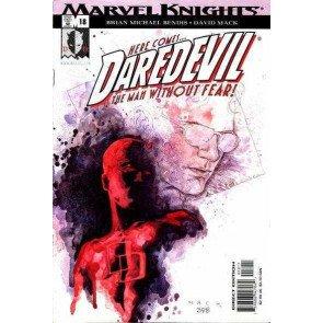 DAREDEVIL (1998) #18 VF/NM DAVID MACK COVER