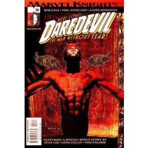 DAREDEVIL (1998) #20 VF/NM DAVID MACK COVER