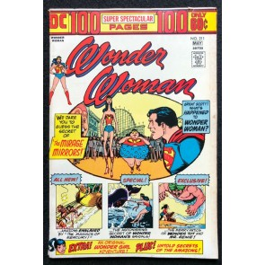 DC 100 Page Super Spectacular (1974) #36 Wonder Woman #211 FN+ (6.5) DC-36