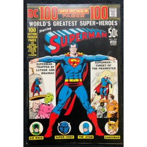 DC 100 Page Super Spectacular (1971) #7 Superman #245 VF- (7.5) DC-7