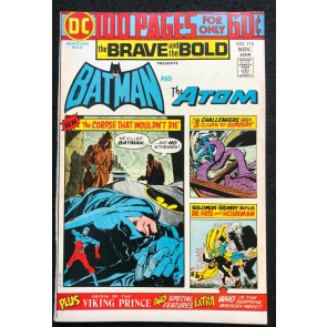 DC 100 Page Super Spectacular (1974) #80 Brave and the Bold #115 Batman DC-80