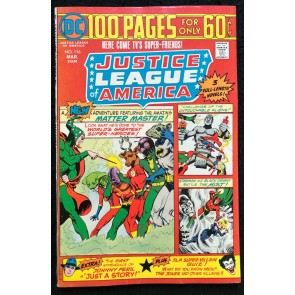DC 100 Page Super Spectacular 1975 #113 Justice League of America #115 VF DC-113