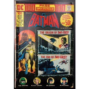 DC 100-Page Super Spectacular (1971) #20 FN- Batman