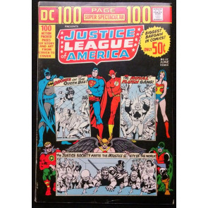 DC 100PG SUPER SPECTACULAR #17 FN/VF JUSTICE LEAGUE OF AMERICA