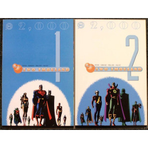 DC 2,000 TWO THOUSAND COMPLETE 2 ISSUE SET