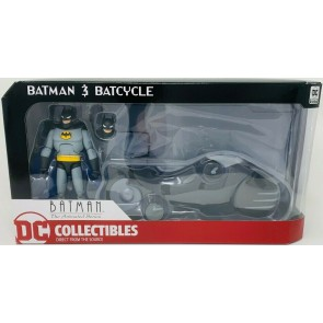 DC Collectibles - Batman Animated Series Batcycle and Action Figure Set MIP