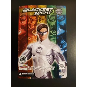 DC DIRECT BLACKEST NIGHT WHITE LANTERN HAL JORDAN 2010 Convention Exclusive NEW|