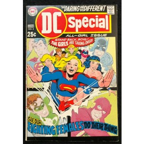 DC Special (1968) #3 VF (8.0) All-Girl Issue Wonder Woman Supergirl Black Canary