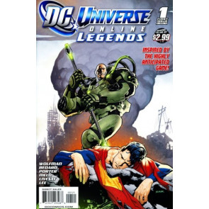 DC Universe Online Legends (2011) #1 VF/NM Ryan Sook Cover