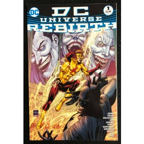 DC Universe Rebirth (2016) #1 VF/NM (9.0) or better 4th print