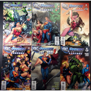 DC Universe On Line Legends (2011) 1-14 complete run of 14 comics no gaps