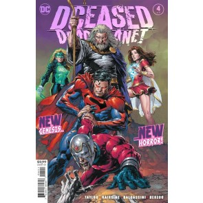 DCeased: Dead Planet (2020) #4 of 7 VF/NM David Finch Regular Cover