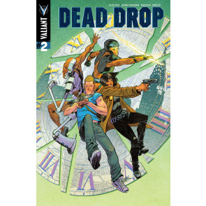 Dead Drop (2015) #2 VF/NM Cover B Valiant