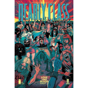 Deadly Class (2014) #34 VF/NM Rory Hensley Cover B Image Comics