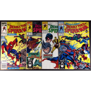 Deadly Foes of Spider-Man (1991) 1 2 3 4 (7.0) complete set with #1 newsstand